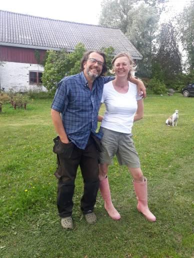 Tuomo Klemola ja Tarja Peromaa