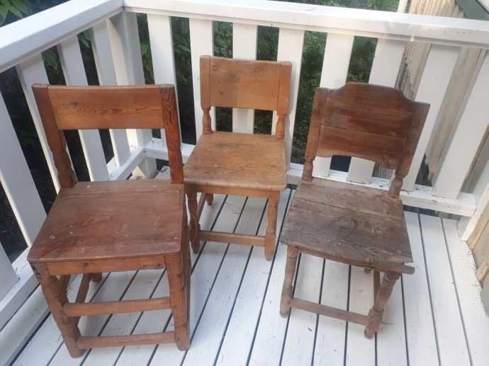 Lahjoitetut tuolit